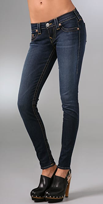 True Religion Casey Super Skinny Denim Leggings