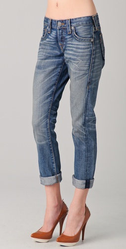 True Religion Brianna Boyfriend Jeans