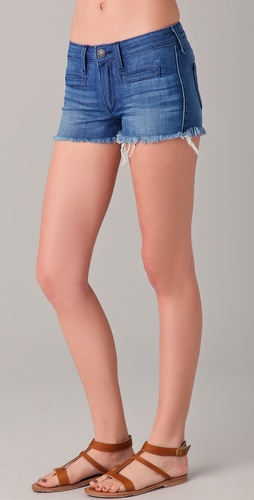 True Religion Adrianna Denim Shorts