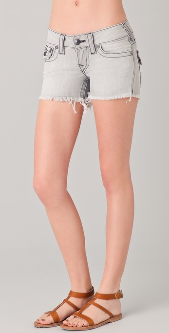 True Religion Keira Denim Shorts