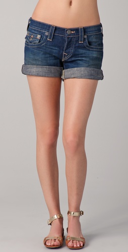 True Religion Jayde BF Denim Shorts