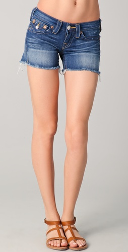 True Religion Keira Cutoff Shorts