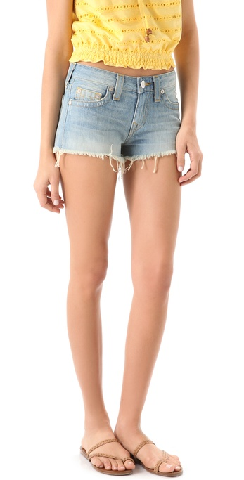 True Religion Dana Cutoff Shorts