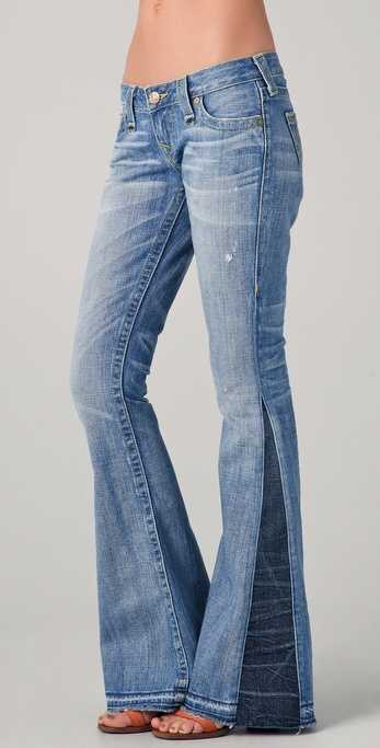 True Religion Bobby Love & Haight Flare Jeans