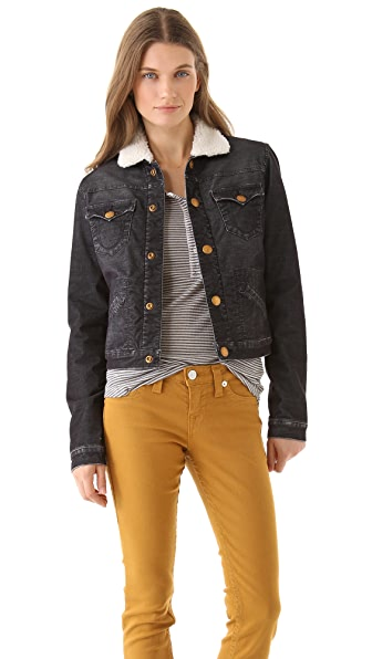 True Religion Retro Sherpa Jacket