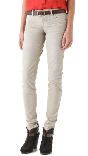 True Religion Shannon Skinny Corduroy Pants