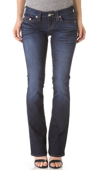 True Religion Tony Slim Microboot Jeans
