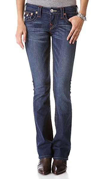 True Religion Becky Petite Boot Cut Jeans