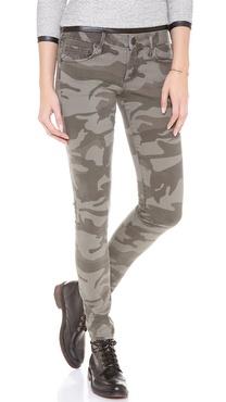 True Religion Casey Camo Skinny Jeans