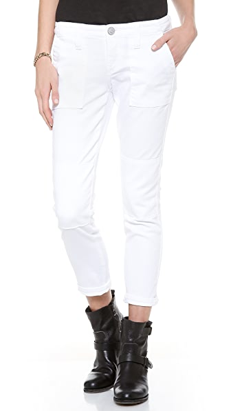 True Religion Joyce Mid Rise Military Skinny Jeans