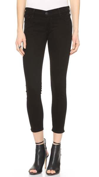 True Religion Linda Mid Rise Super Skinny Capri Pants