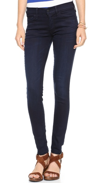 True Religion Halle Mid Rise Super Skinny Jeans