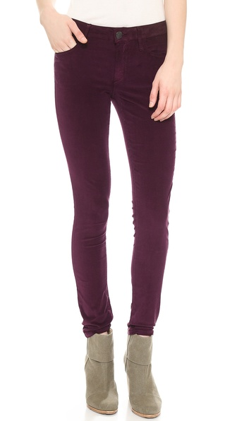 True Religion Halle Super Skinny Corduroy Pants