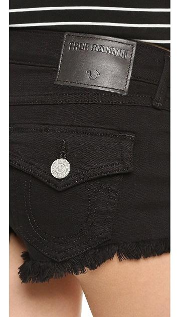 True Religion Joey 超短裤