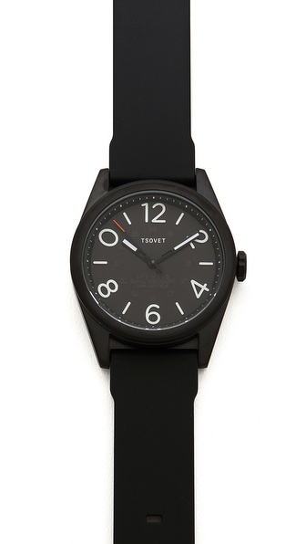 Tsovet Gunmetal & Black 42MM Watch