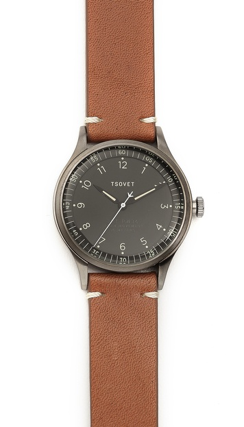 Tsovet Gunmetal & Grey 36MM Watch