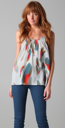 Tucker Shirred Camisole