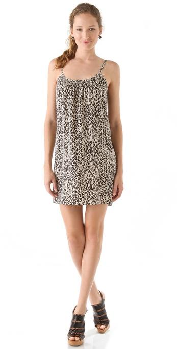 Tucker Shirred Cami Mini Dress