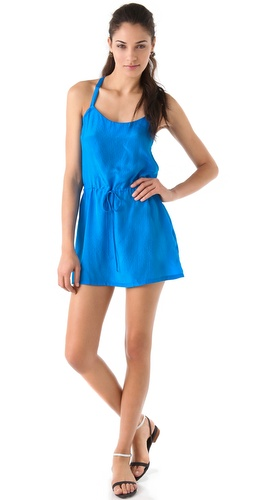 Tucker Drawstring Cami Dress