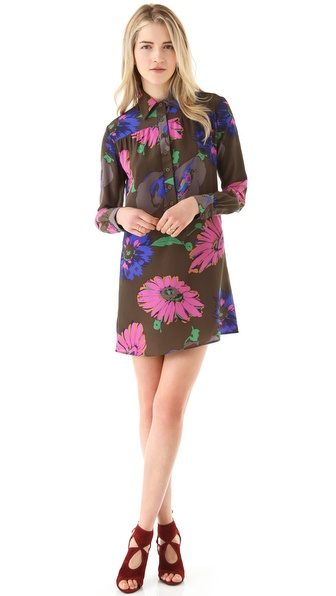 Tucker Collared Tunic Dress