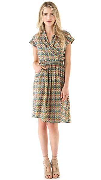 Tucker Cross Front Dress