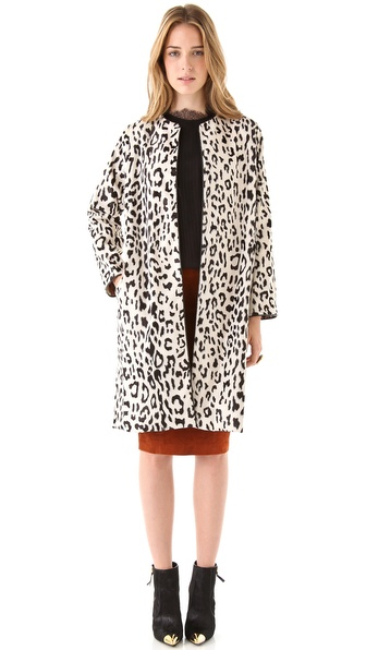 Tucker Pod Faux Fur Jacket