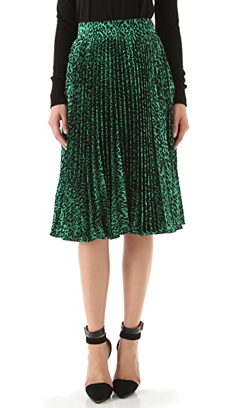Tucker Pleated Skirt