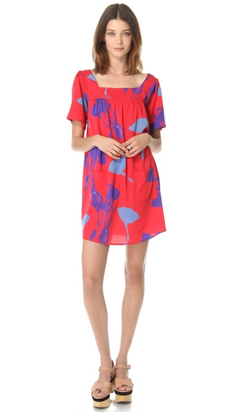 Tucker Squared Neck Dress
