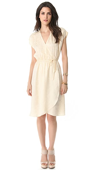 Tucker Wrap Dress