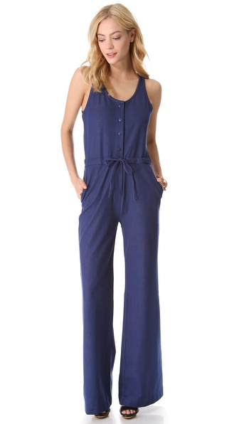 Tucker Binded Tank Jumpsuit