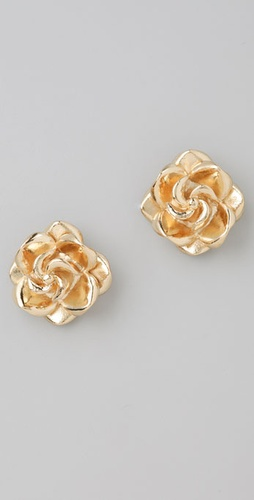 tuleste market Rosette Stud Earrings