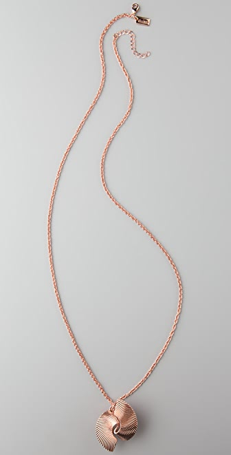 Tuleste Twist Pendant Necklace