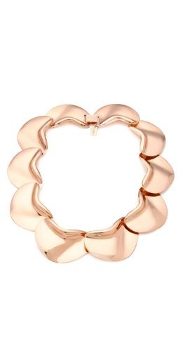tuleste market Solid Petal Necklace