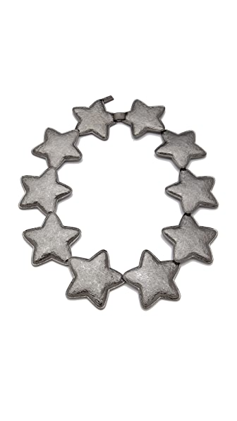 Tuleste Interlocking Star Necklace