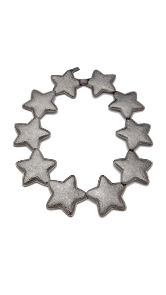 tuleste market Interlocking Star Necklace