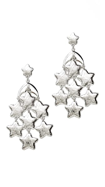 Tuleste Star Chandelier Earrings