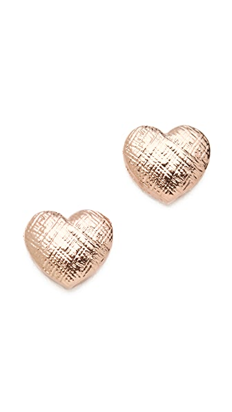 Tuleste Heart Stud Earrings