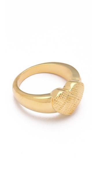 Tuleste Single Heart Ring