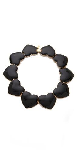 tuleste market Interlocking Heart Necklace