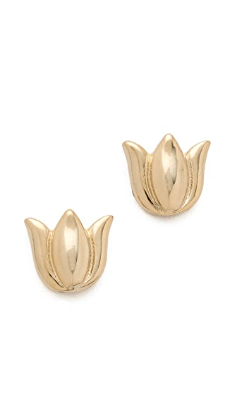 Tuleste Tulip Stud Earrings