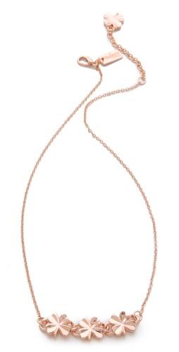 tuleste market Shamrock Necklace