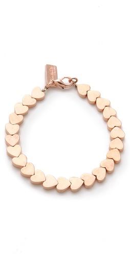 tuleste market Heart Chain Bracelet