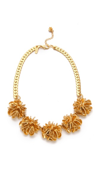tuleste market Large Flower Necklace
