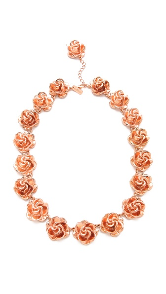 Tuleste Rosette Necklace