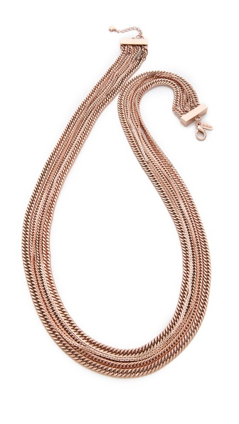 tuleste market Multi Strand Long Necklace