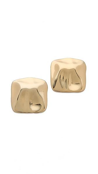 Tuleste Hammered Stud Earrings