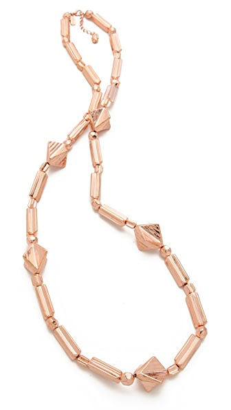 Tuleste Geometric Long Necklace