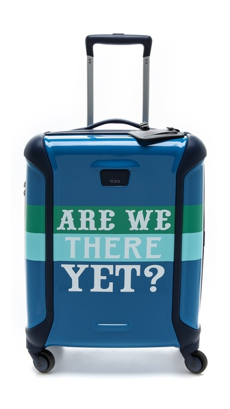 Tumi Jonathan Adler Are We There Yet Continental Carry On