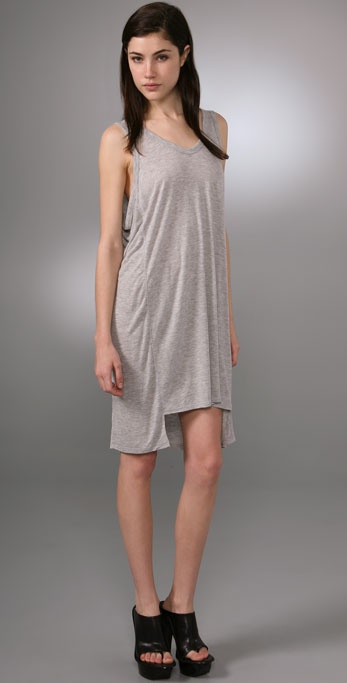 T by Alexander Wang Paneled Tank Dress
