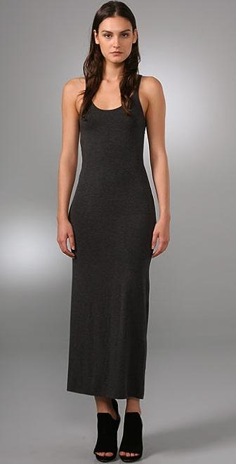 T by Alexander Wang Modal Spandex Long Tank Dress